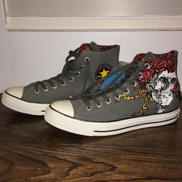 Grateful Dead Converse. Rare sample! NWT